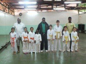 Passage de grade à la section karaté dans Arts martiaux DSCF1624-300x225