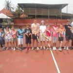 Stage de tennis février 2012