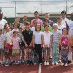 stage de tennis Toussaint 2012