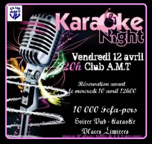 soirée Karaoké dans Le Club AMT vous propose nsmail-300x286