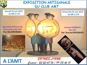 Journée portes ouvertes dans Le Club AMT vous propose exposition-artisanale-du-15-et-16-juin-2013-300x226